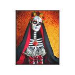 Lona envuelta Muerte del La Impresión En Tela