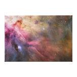 Lona envuelta nebulosa de Orión Impresiones En Lona Estiradas
