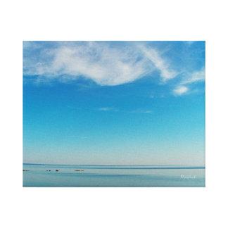 Lona envuelta NullValue del jjhelene de la playa Impresiones En Lona