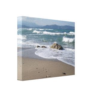 Lona envuelta paisaje marino impresiones de lienzo