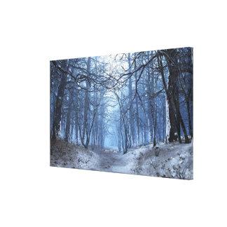Lona envuelta premio de la elegía (día de invierno impresiones de lienzo