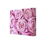 Lona envuelta rosa rosado lona estirada galerias