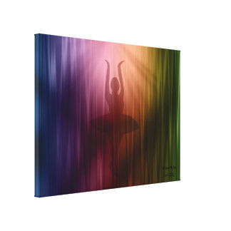 Lona envuelta salida a escena del bailarín de la lona estirada galerías