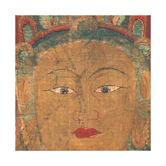 Lona envuelta Taishakuten esotérica de Deva del Bu Impresiones En Lienzo Estiradas