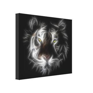Lona envuelta tigre abstracto impresiones de lienzo