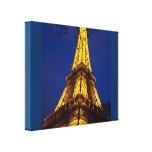 Lona envuelta torre Eiffel Lienzo Envuelto Para Galerias