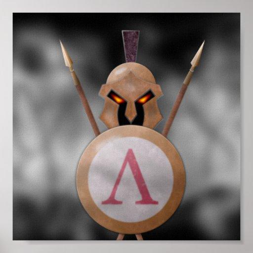 Lona espartano de encargo poster