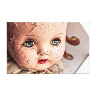 lona espeluznante del bebé lienzo envuelto para galerías