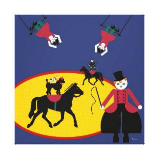 Lona estirada amo de Cirque de Martzkins Ring Impresión En Lona Estirada