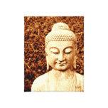 lona estirada foto de la estatua de Buda Impresiones De Lienzo