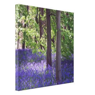 Lona estirada imagen de madera Prin de la naturale Impresión En Lienzo