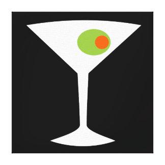 Lona estirada Martini clásica de la película Impresión En Lienzo Estirada
