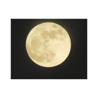 Lona estupenda del estiramiento de la luna impresión en lienzo estirada