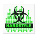 Lona impresionante del biohazard de Hardstyle Impresiones En Lona Estiradas