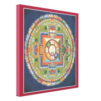 LONA - mandala de Buda de la compasión Impresion De Lienzo