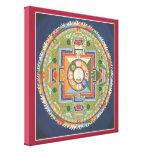 LONA - mandala de Buda de la compasión Impresión En Lona Estirada