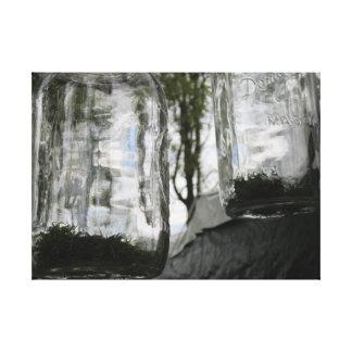 Lona original del tarro de albañil de la fotografí impresión en tela