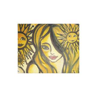 Lona para arriba envuelta soleada del lado lienzo envuelto para galerias