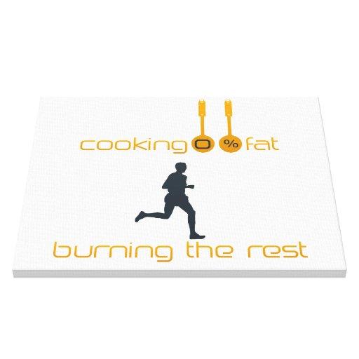 Lona personal del instructor del cocinero de motiv impresiones en lona