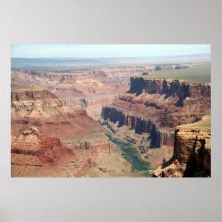 Lona superior del Gran Cañón impresionante mate Posters
