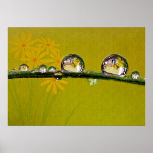 Lona Wassertropfen de Leinwanddruck   Leinwand Posters