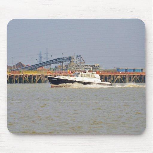 Londinium III Patrol Boat Mouse Pad