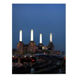 Londo Power Station Postcard
