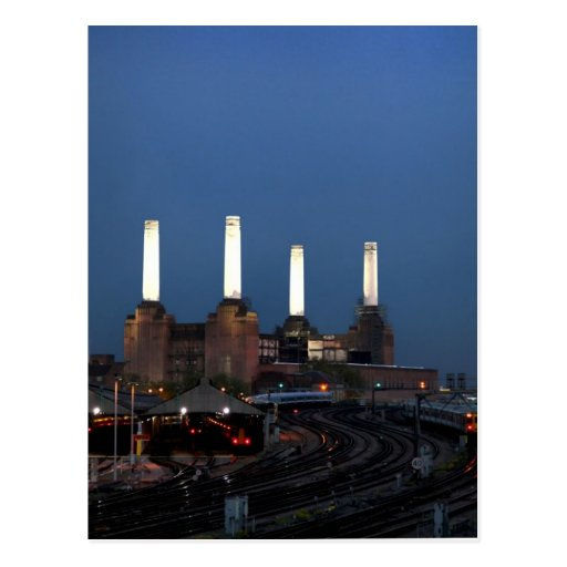 Londo Power Station Post Cards
