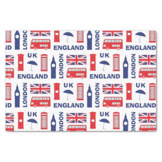 "London 10"" X 15"" Tissue Paper"