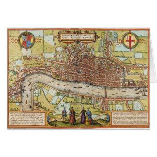 London 1572 card