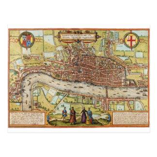 London 1572 postcard