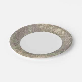 London 1843 7 inch paper plate