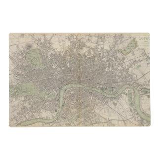 London 1843 placemat