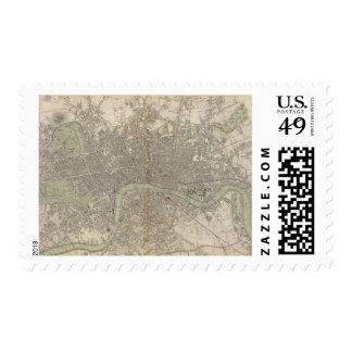 London 1843 postage