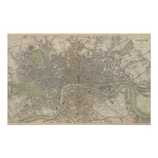 London 1843 poster