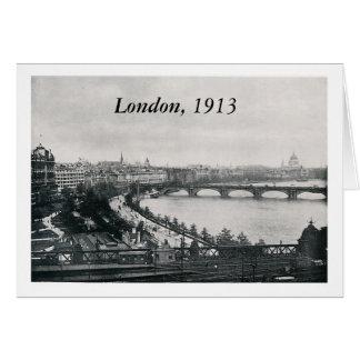 London, 1913 card