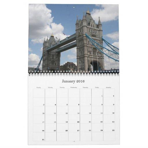 london 2013 calendar