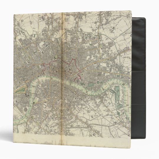 London 3 Ring Binder