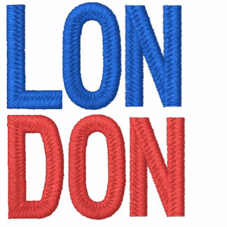 London 6 Embroidered Basic T-Shirt