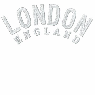 London 7 Embroidered Red Polo T-Shirt
