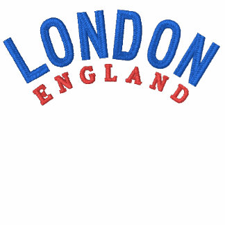 London 9 Embroidered White Polo T-Shirt