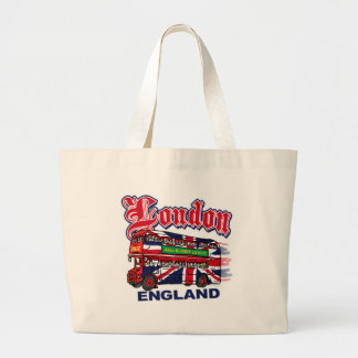 London Abso-Bloody-Lutely Large Tote Bag