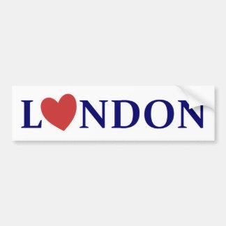 London amor pegatina de parachoque