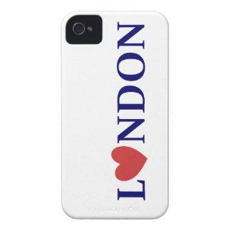 London amor Case-Mate iPhone 4 coberturas