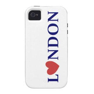 London amor vibe iPhone 4 funda