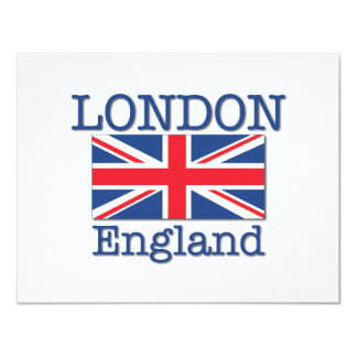 London and Union Jack Card
