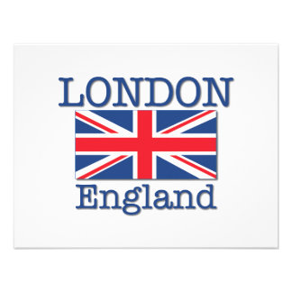 London and Union Jack Invite