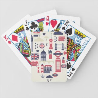 London at Heart Bicycle Playing Cards