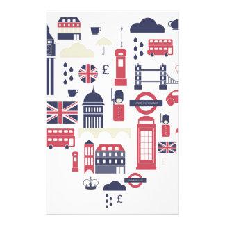 London at Heart Stationery