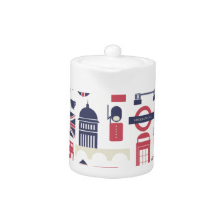 London at Heart Teapot